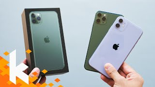 Erstes Unboxing: iPhone 11 & iPhone 11 Pro Max