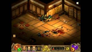 Throne of Darkness gameplay 720p 60p beginning to first Boss by OY