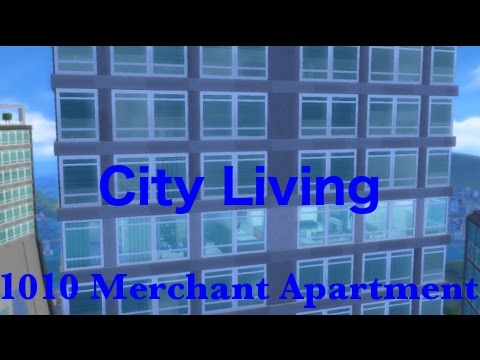 Sims 4 Apartment Build | 1010 Merchant Apartment