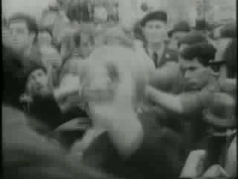 Vietnam War Peace March, MLK Leads Procession 1967/4/18