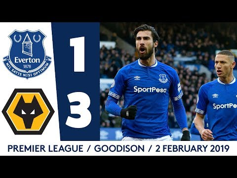 ANDRE GOMES NETS STUNNER BUT BLUES DEFEATED | EVERTON V WOLVES: MATCH HIGHLIGHTS
