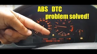BMW E39 abs dsc lights problem solved! (How to fix it)
