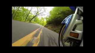 2012 Honda GL1800 Goldwing, North Carolina Hwy 226A Little Switzerland, N.C., The Wingman