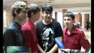 Азовская лига КВН 2011 годарепортаж АЗОВ ИНФО