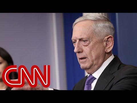 Mattis was 'livid' before Trump meeting
