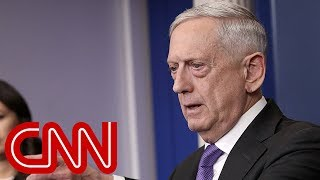 Mattis was 'livid' before Trump meeting