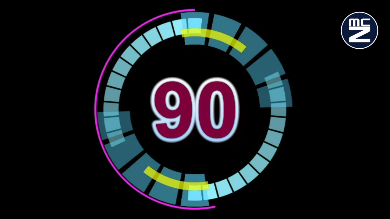 ... 90 secondi - 90 seconds countdown timer - Free House - YouTube