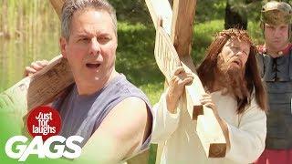 Jesus Carries The Cross Prank thumbnail
