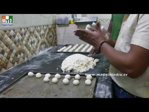 MAKING OF BUN | HOW TO MAKE BREAD  | BAKERY FOODS IN INDIA | STREET FOODS IN INDIA