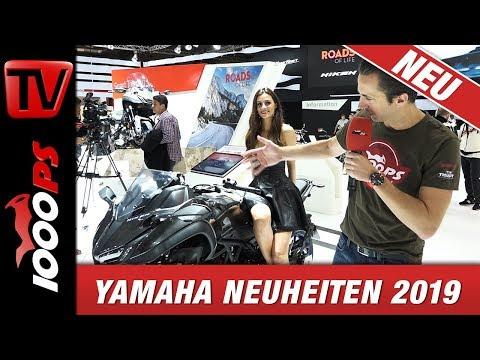 Yamaha Tenere 700 2019 - Neuheiten  EICMA - Alle Modelle in Deutsch - Technische Daten und News