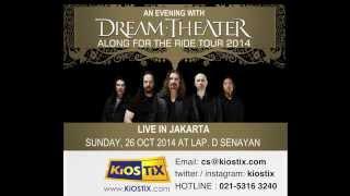 Download Video Video Promotional Dream Theater Jakarta 2014 by KiOSTiX MP3 3GP MP4