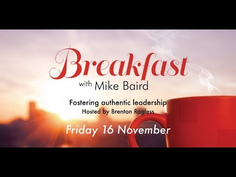 Breakfast with Mike Baird