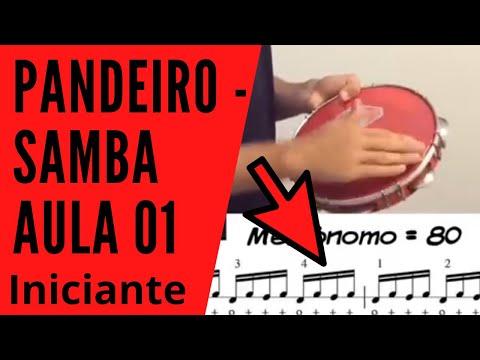 Como tocar pandeiro - Samba - Aula 01