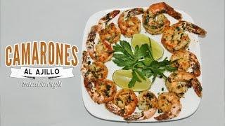 Camarones Al Ajillo -  Receta Facil Y Rapida (camarones Al Aji)