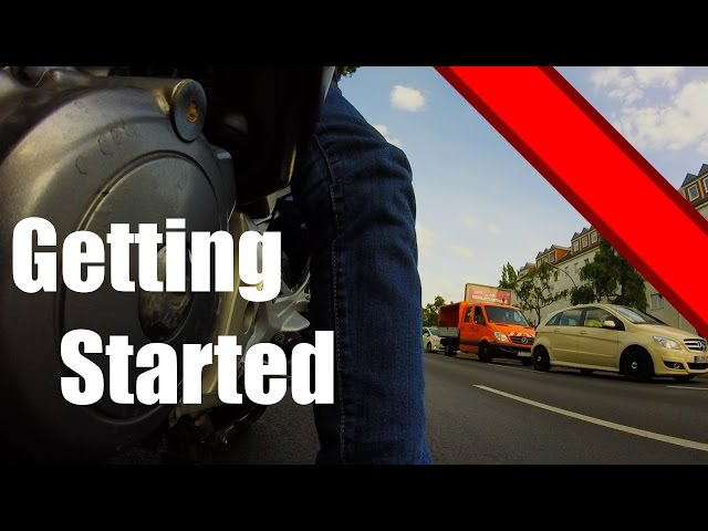 Motorcycling: Honda CBF 500: Getting Started GoPro HD