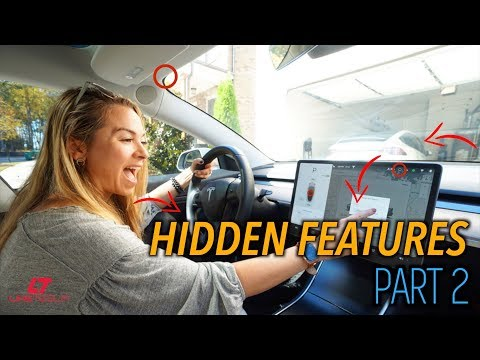 More Crazy & Useful Features Tesla WON'T Tell You About!