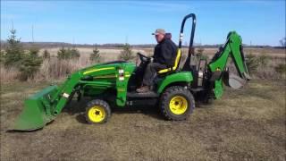 2006 john deere 2305 compact utility tractor