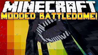 Minecraft Modded Battle Dome! - TEAM KILLING?! - (Morph Mod) - Part 1/2