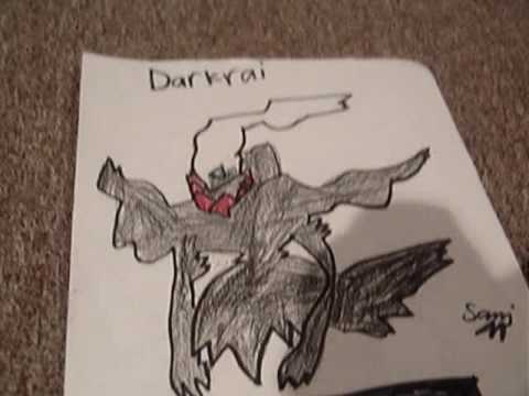 My Pokemon Drawings (By 8 year old boy) - YouTube
