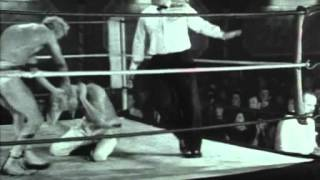 Jimmy Savile wrestling footage