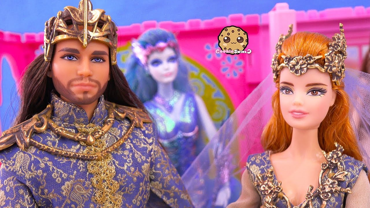 sale first look check out Wedding ! Barbie Faraway Forest Royal Fairy Prince + Bride Get Married