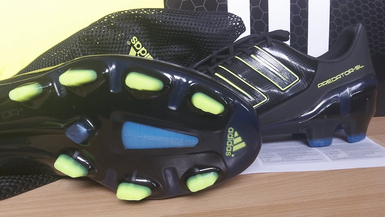 Unboxing  Adidas AdiPower Predator Kinetic SL - Black-Electricty-Blue 6ee49a61d