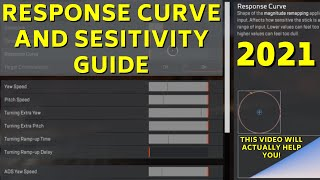 Advanced Look Controls Response Curve And Sensitivity Guide Apex
