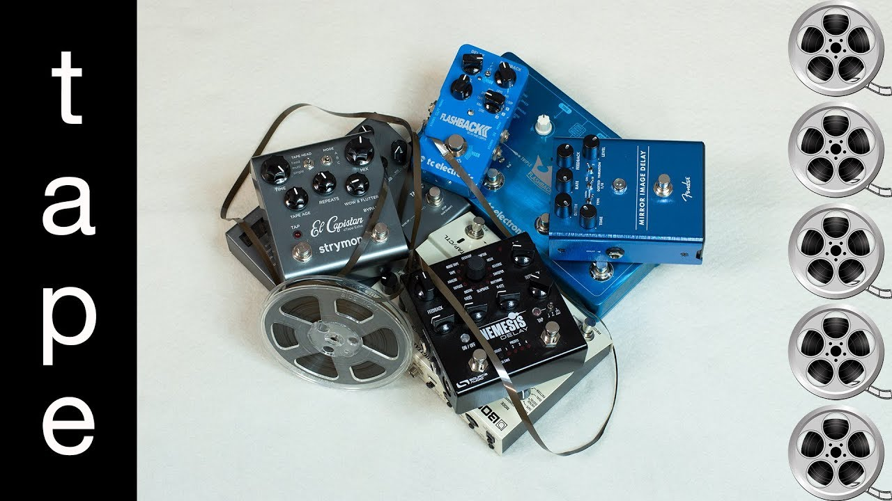 best tape delay pedal a comparison and shootout youtube. Black Bedroom Furniture Sets. Home Design Ideas