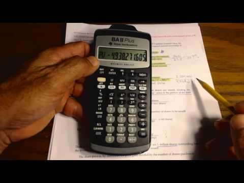 Basic Venture Capital Formula Pg 1-2 part 1