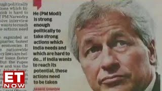 India on track to be $5 trillion nation: JP Morgan CEO Jamie Dimon