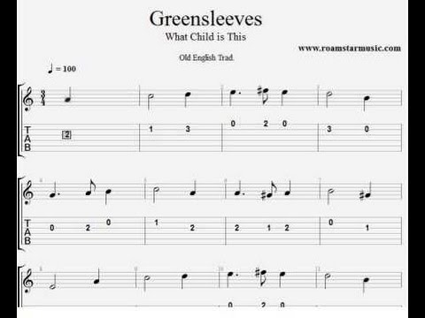 Guitar : guitar tabs greensleeves Guitar Tabs and Guitar Tabs ...