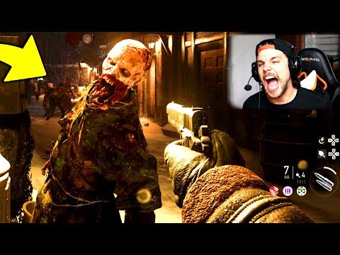 NAZI ZOMBIES GAMEPLAY !! - (Call of Duty: WW2)