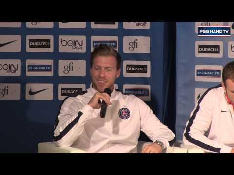 Conférence de presse : Présentation des nouvelles recrues du PSG Handball