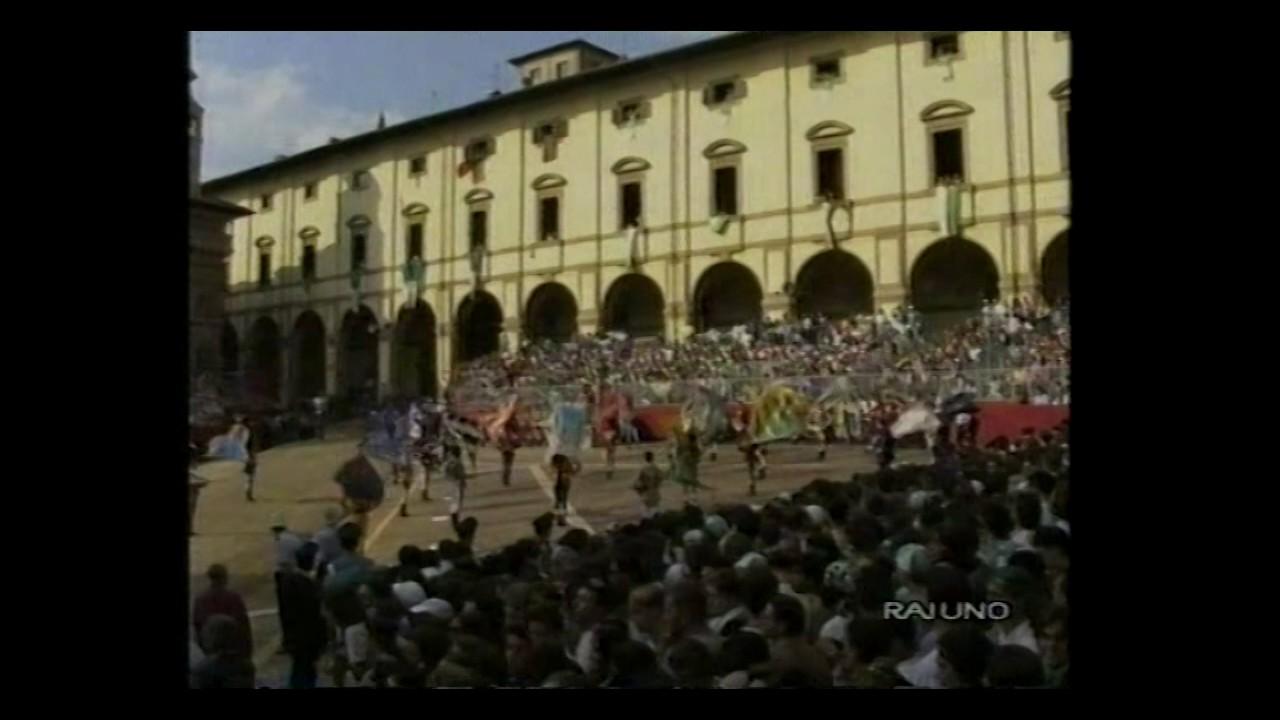 84a Giostra del Saracino 29 agosto 1993 - RAI UNO