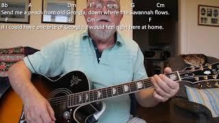 Guitar: Send Me A Peach (Including lyrics and chords)