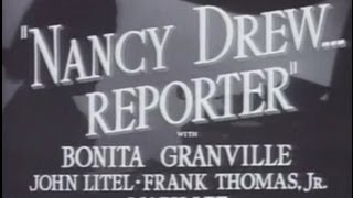 Nancy Drew... Reporter (1939) [Comedy] [Crime]