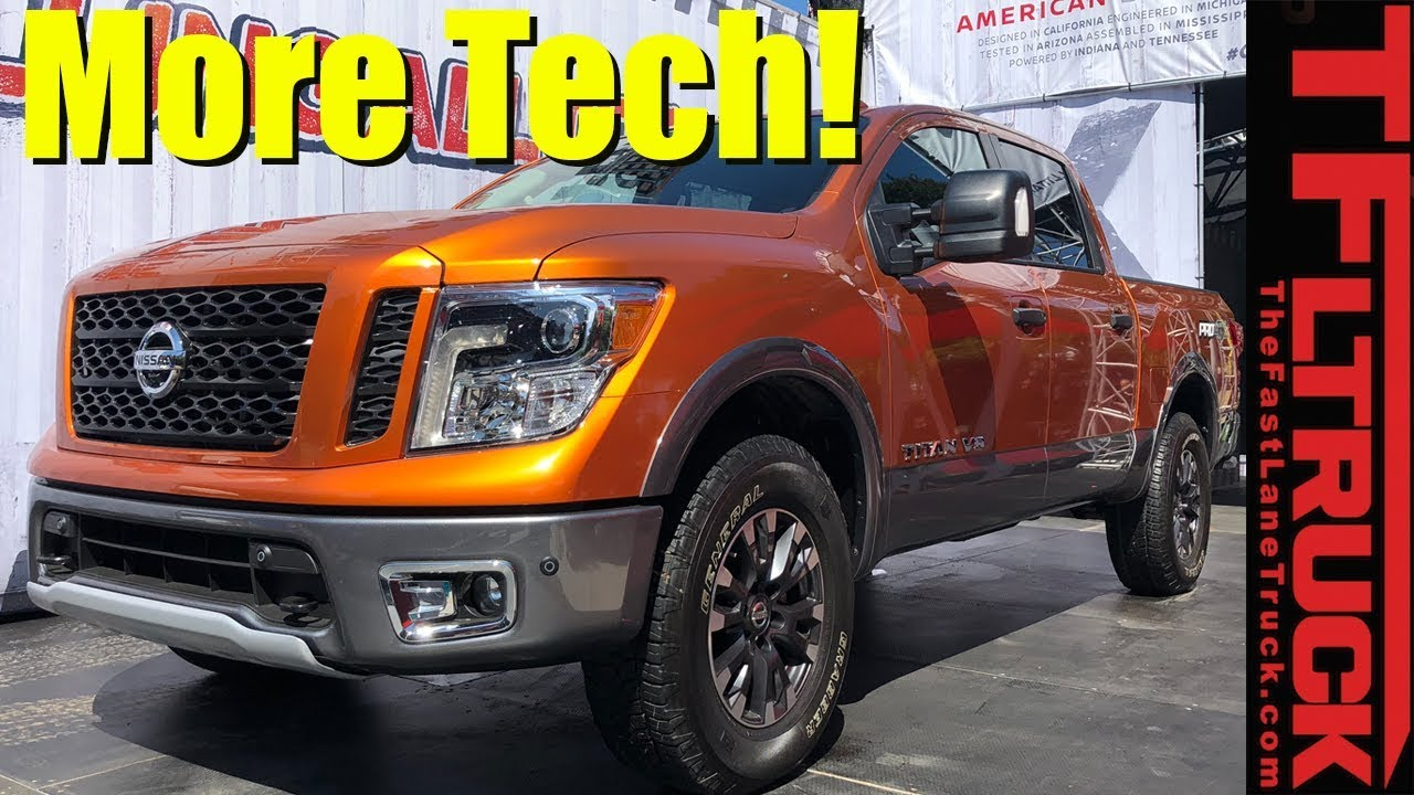 2019 Nissan Titan Walkaround: More Tech and New Colors!