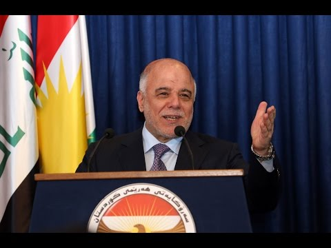 Iraqi PM to appeal to U.S. for more firepower and support against Islamic State