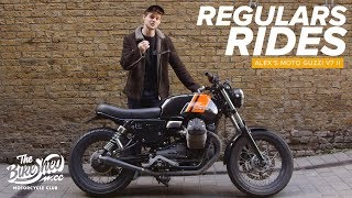 Regular's Rides: Alex's Moto Guzzi V7 II