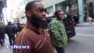 Adrien Broner On Rapper Tekashi & Gets Call From Robert Eatser Jr EsNews Boxing