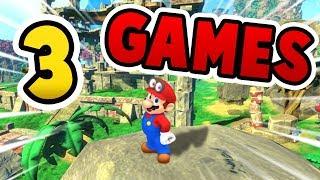 3 Spiele die WIE Mario Odyssey sind 😍😍