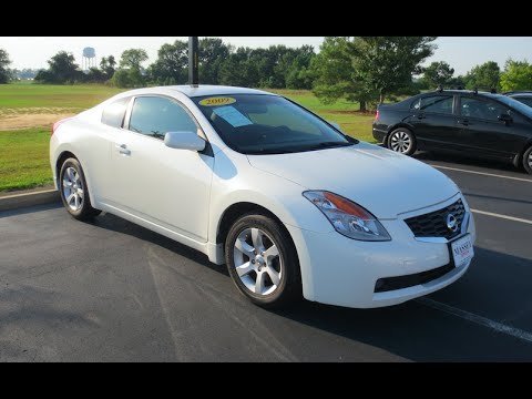 2009 Nissan Altima Coupe 2 5 S Full Tour Start Up At Mey Toyota