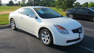 Nissan Altima Coupe (2007) Videos