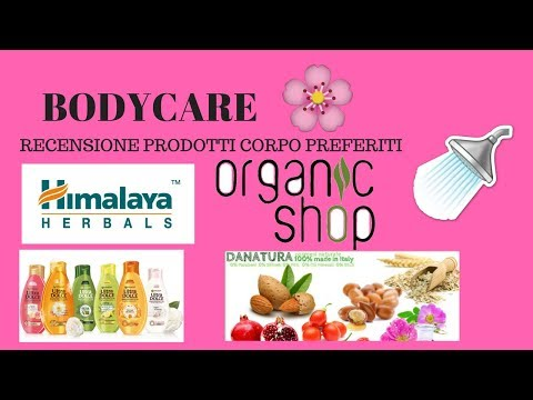 I MIEI PRODOTTI CORPO TOP: REVIEW ORGANIC SHOP, ULTRADOLCE,