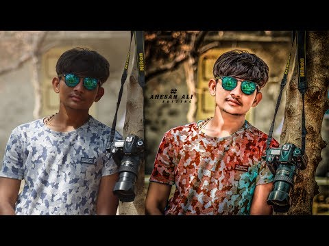 HDR Effect + Change Background || Awesome Photoshop Editing Tutorial || Real Cb Editing | Oil Paint|