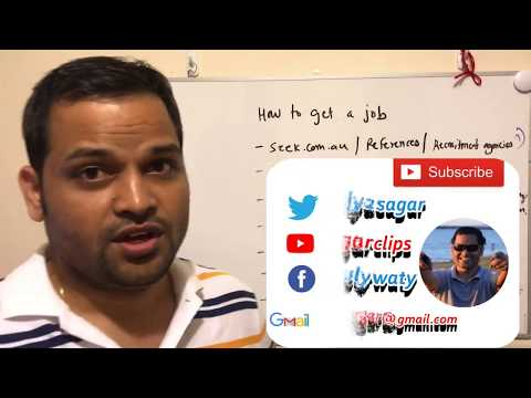 Getting First Job In Australia | First Job For PR Holders In Australia | Interview Tips