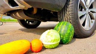 Experiments VS CARS Тест на прочность Арбуз против машины
