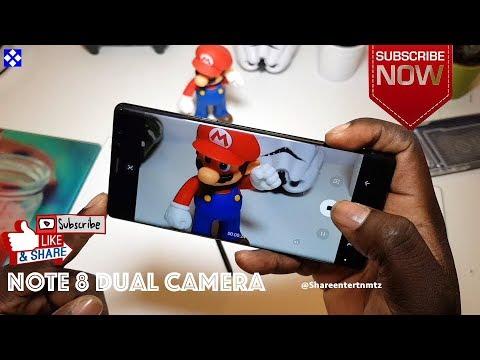 Samsung Galaxy NOTE 8 - Dual Camera Full Experience (Tutorial)
