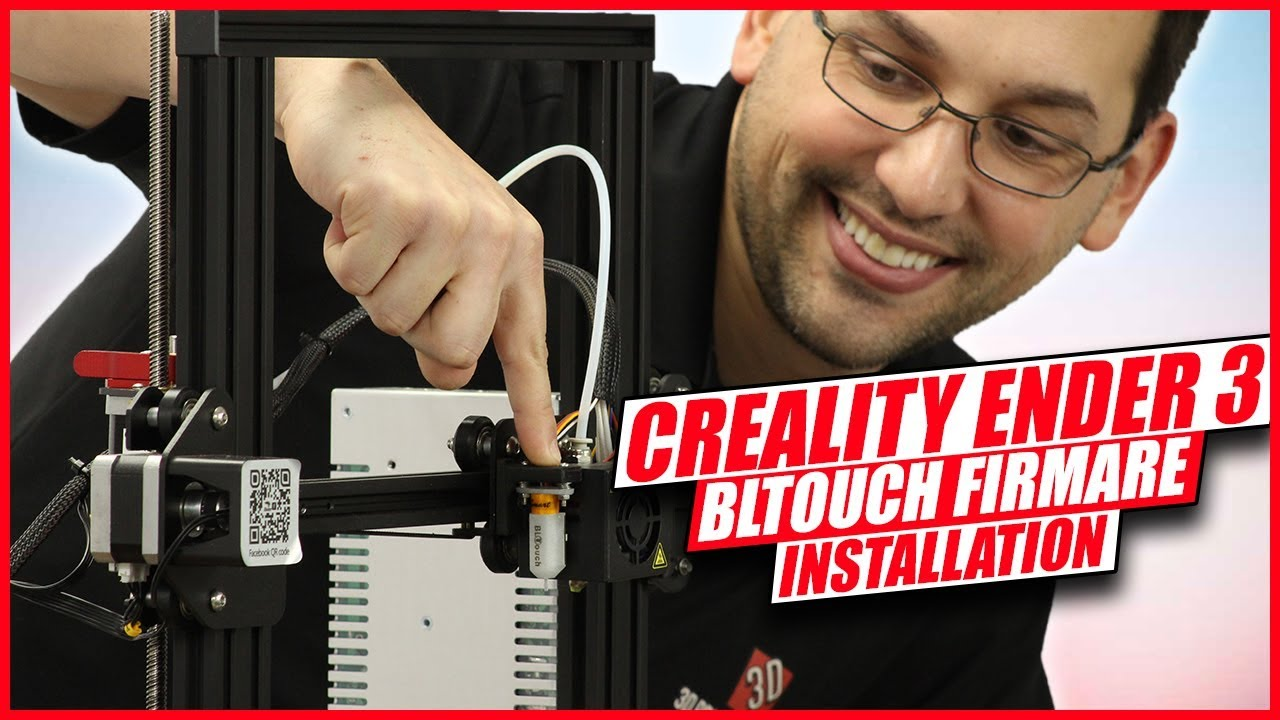 How to install Vanilla Marlin Firmware for the BLTouch on a Creality Ender 3