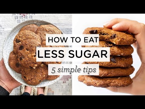 HOW TO REDUCE SUGAR ‣‣ 5 tricks to eat less sugar